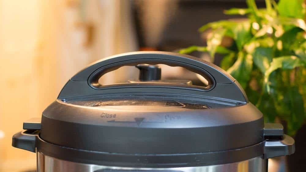 steam coming out of the instant pot
