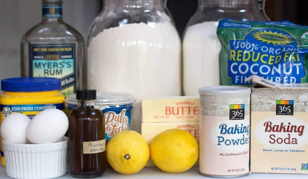 ingredients for alfajores