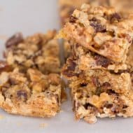 No Butter or Shortening Date Nut Bars