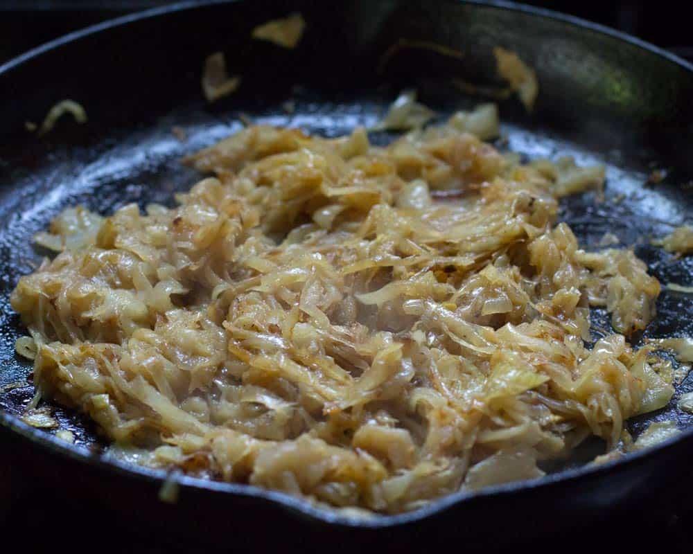 Caramelizing onions - after 60 minutes
