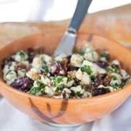 Easy Mediterranean Bruschetta Appetizer