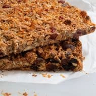 Homemade Dried Fruit & Nut Bars